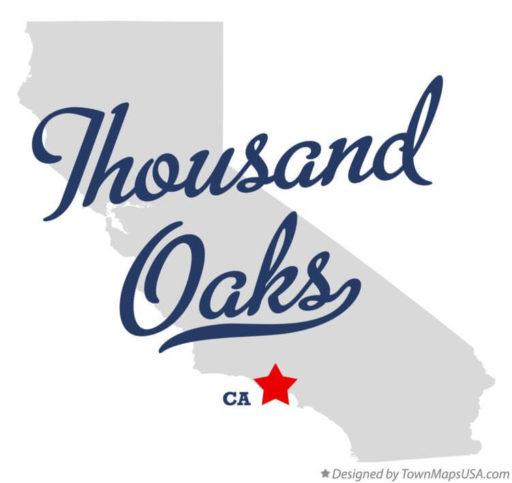 Thousand Oaks Map
