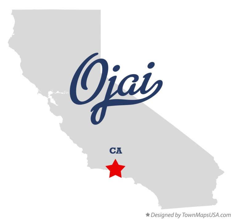 Ojai Map